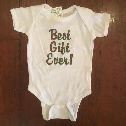 ONESIE BEST GIFT EVER EMBROIDERED