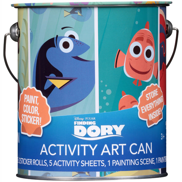 Finding Dory Activity Art Can 19 pc Can-Disney Pixar