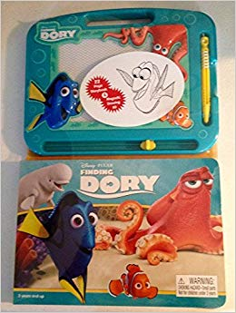 Finding Dory Storybook & Magnetic Drawing kit