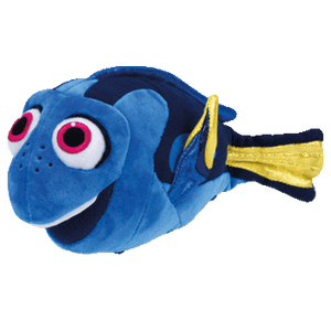 TY - DISNEY'S DORY PLUSH FISH MEDIUM
