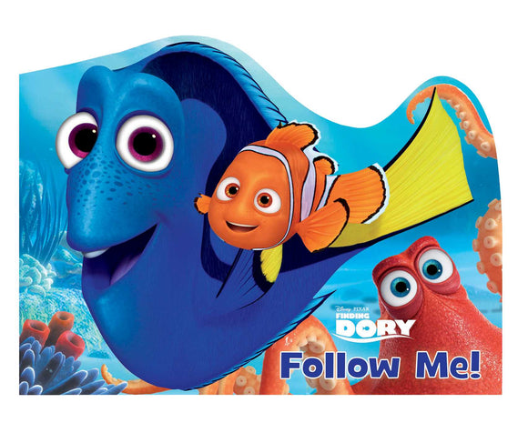 Finding Dory Follow Me! - Kids Board book Disney Pixar