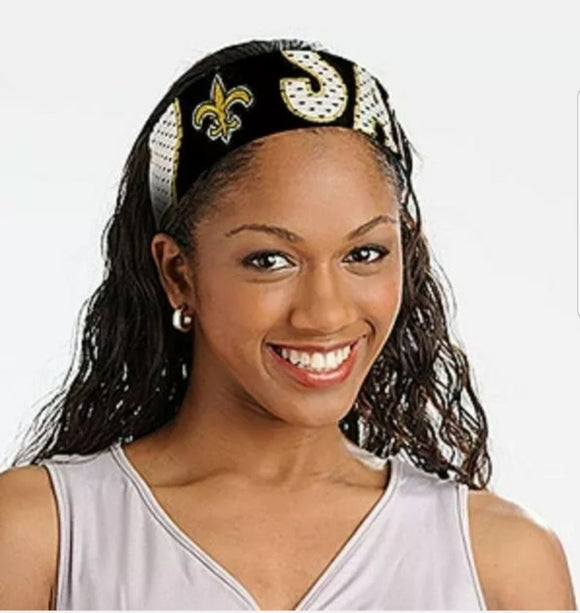 SAINTS HEADBAND/FANBAND