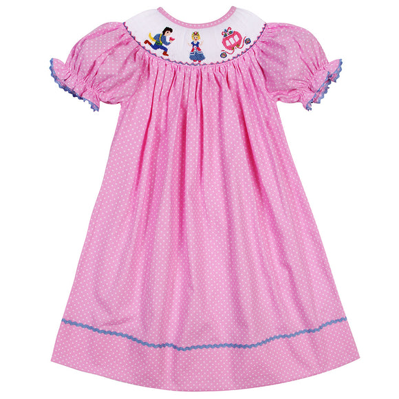 PRINCESS SMOCK BISHOP DRESS