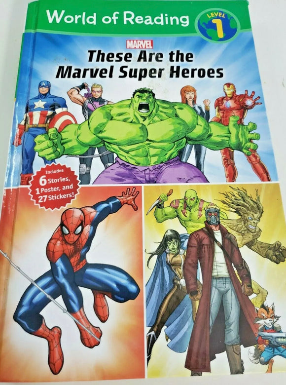 THESE ARE SUPER HEROES BY MARVEL Level 1