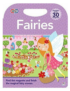 FAIRIES MAGNETIC PLAY BOARD BOOK