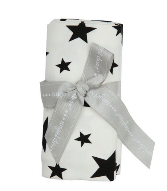 STAR PRINT BAMBOO SWADDLE