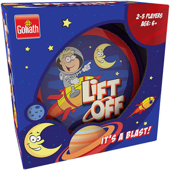 LIFT OFF ROUND TIN GAME