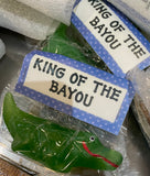 "ALLIGATOR IS THE ""KING OF THE BAYOU"" SOAP"