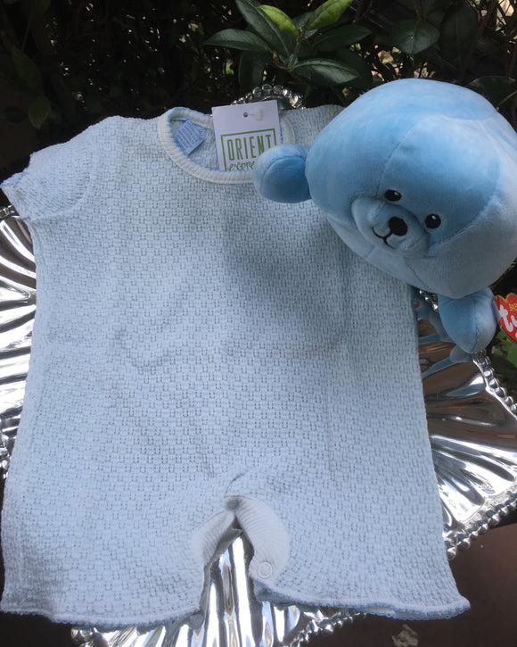 LAYETTE BOUCLE ONESIE