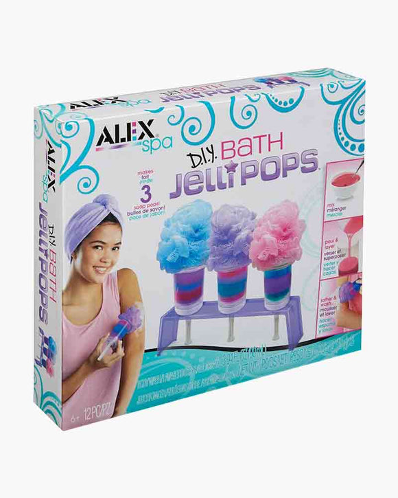 ALEX SPA D.I.Y. BATH JELLIPOPS