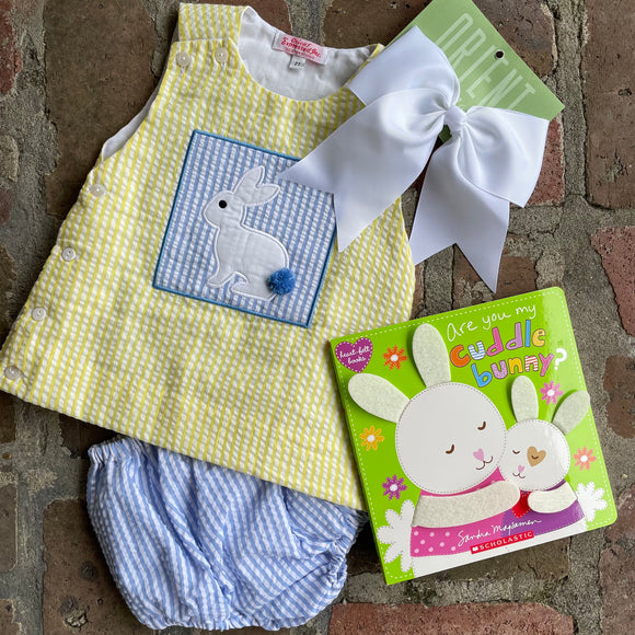 EASTER BUNNY 2PC SHORT SET