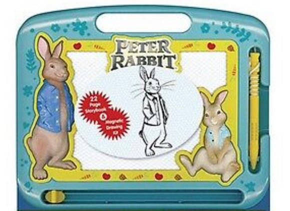 PETER RABBIT BOARD BOOK AND MAGNETIC DRAWING KIT