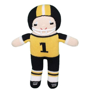 SAINTS FOOTBALL PLAYER KNIT DOLL