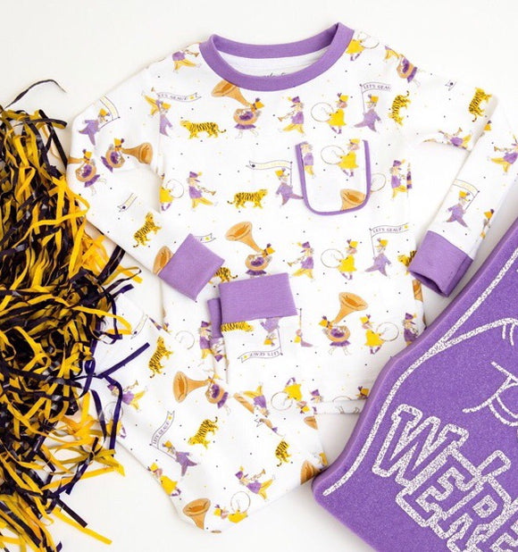 LSU PJs GEAUX TIGERS for KIDS