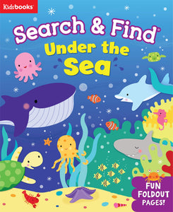 SEARCH & FIND UNDER THE SEA BOARD BOOK