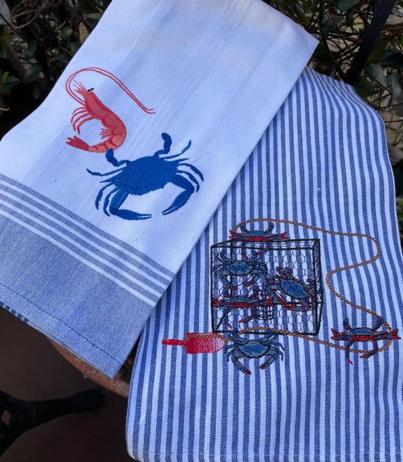 SEAFOOD BOIL KITCHEN TOWEL