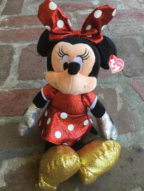 TY SPARKLE MINNIE MOUSE