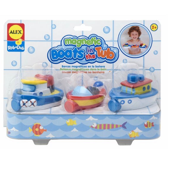 MAGNETIC BOATS IN THE TUB ALEX TOYS