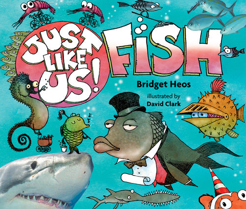 Just Like Us! Fish Board Book