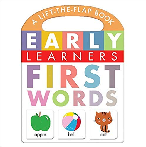 First Words, A Lift-the-Flap Book - Little Hippo Books - Children's Learning Board Book Board book