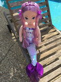 LORELEI MERMAID SEQUIN PURPLE MEDIUM by Ty