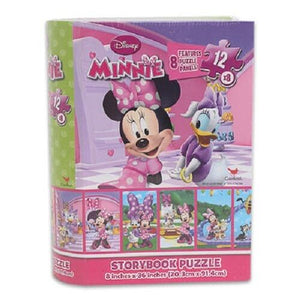 MINNIE STORYBOOK PUZZLE SET OF 8