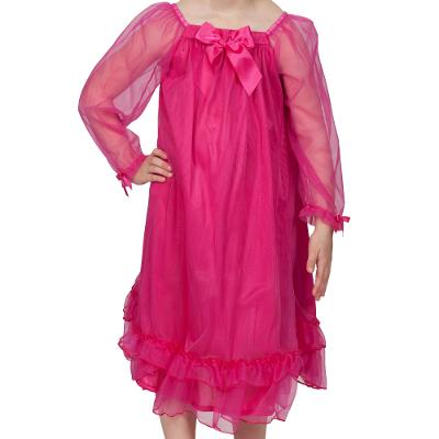 PRINCESS NIGHTGOWN FUSHCIA