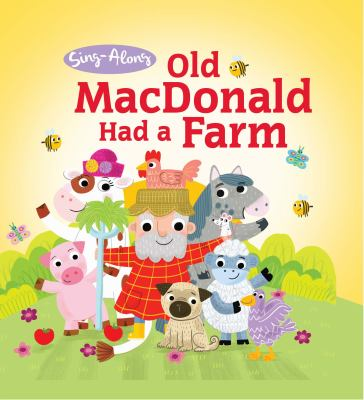 Old MacDonald Had a Farm - Little Hippo Books - Children's Padded Board Book