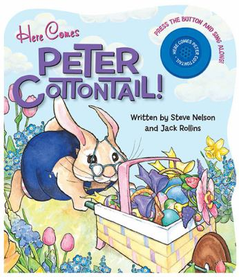 Here Comes Peter Cottontail!-Board Book