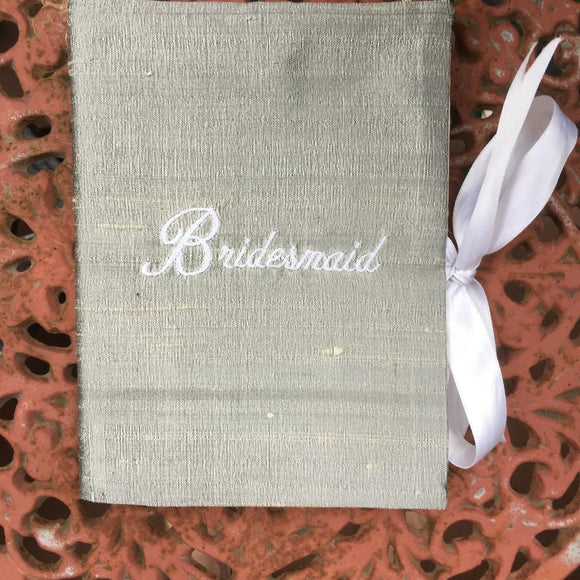 SILK PHOTO BOOK for the BRIDESMAIDS