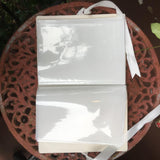 LINEN PHOTO BOOK GOLD CROSS