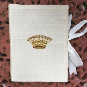 SILK PHOTO BOOK GOLD CROWN