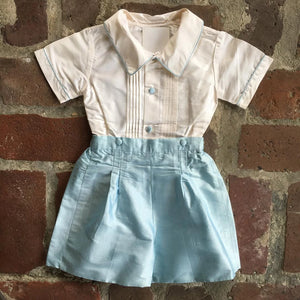 SILK BOYS 2 PIECE DRESS SET