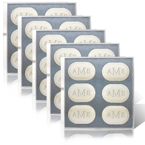 MONOGRAM OVAL SPA SOAP SET FOR A YEAR