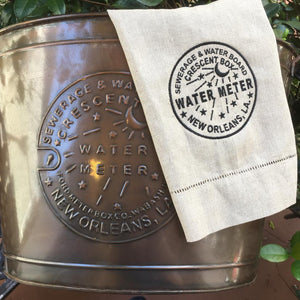 WATER METER Copper Beverage Cooler or Party Tub