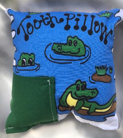 TOOTH FAIRY PILLOW SEE YOU LATER GATOR