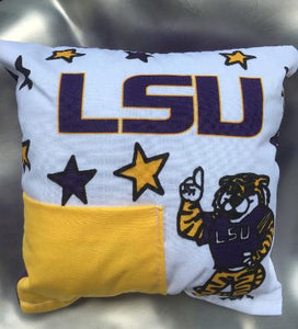TOOTH FAIRY PILLOW LSU