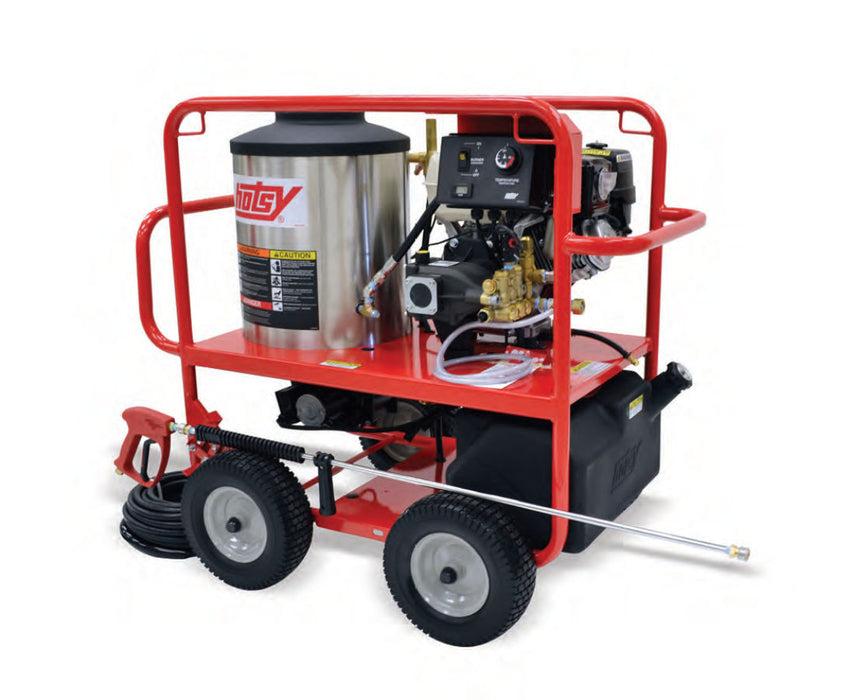 Hotsy Model 1075SSE Gas-Driven Hot Water Pressure Washer