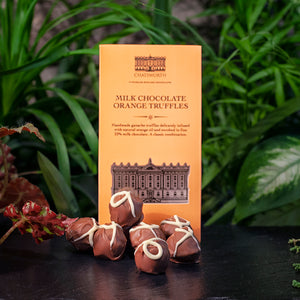 Milk chocolate orange truffles