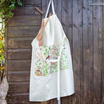 Chinese wallpaper canvas apron