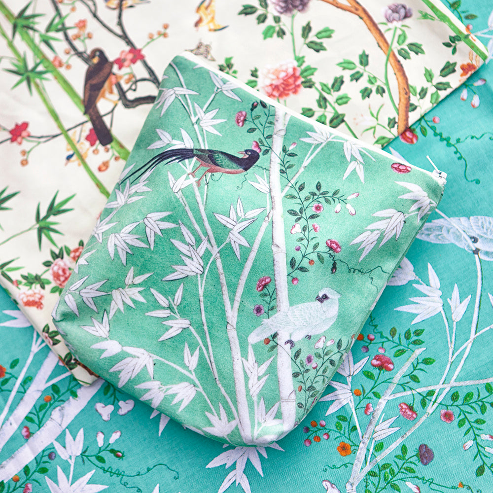 Chinese wallpaper wash bag