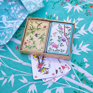 Chinese wallpaper playing cards