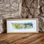 Chatsworth watercolour print