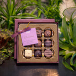 Assorted Derbyshire chocolates, small