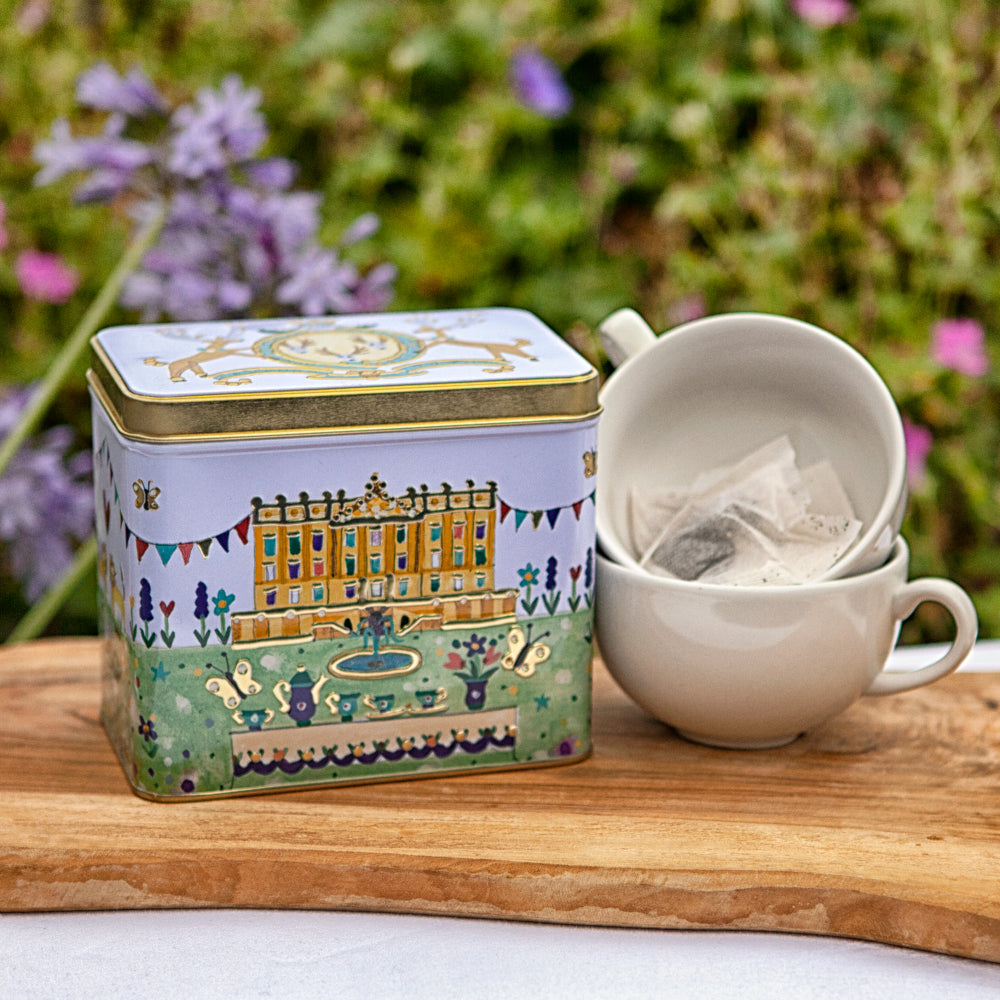 Chatsworth English breakfast tea caddy
