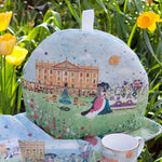 Tea and Biscuits on the Lawn tea cosy