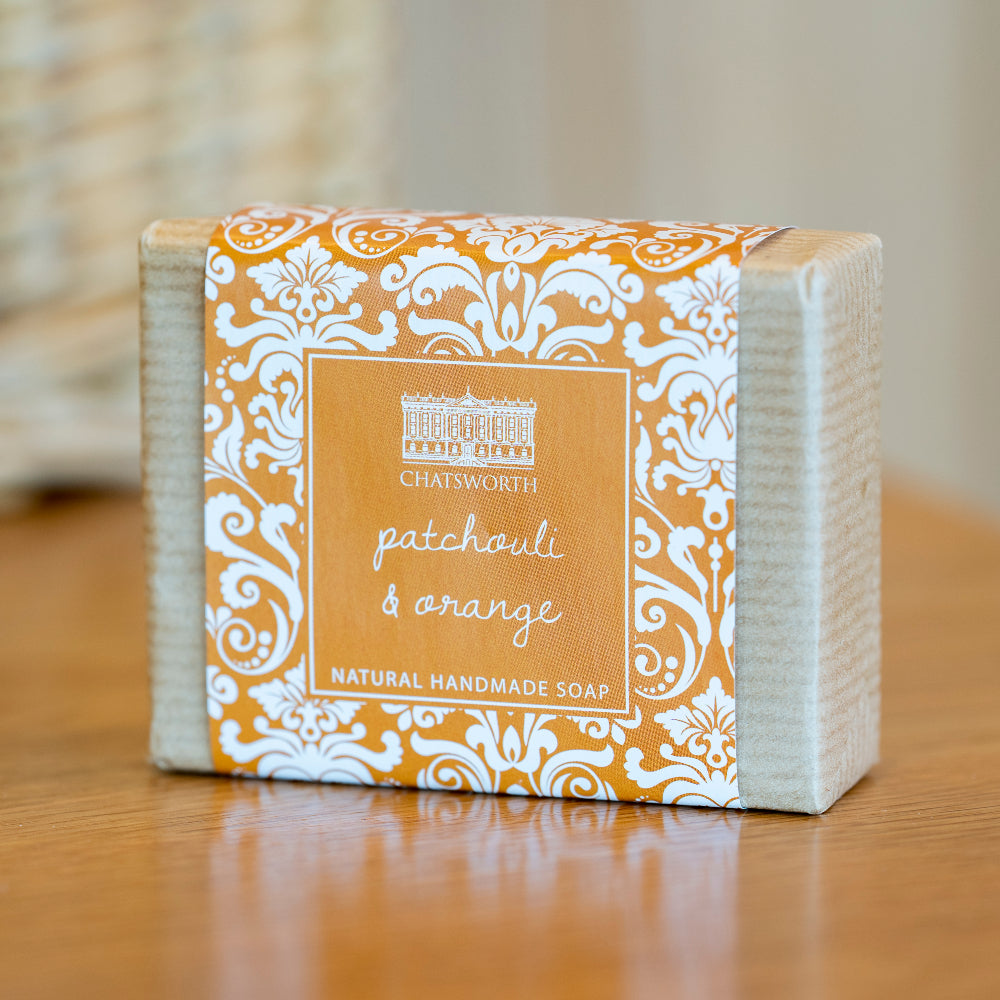 Handmade natural soap - patchouli & orange