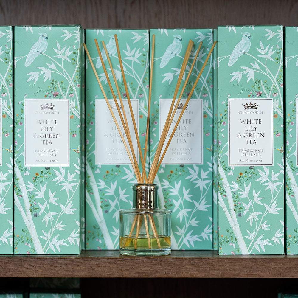 White lily & green tea fragrance diffuser