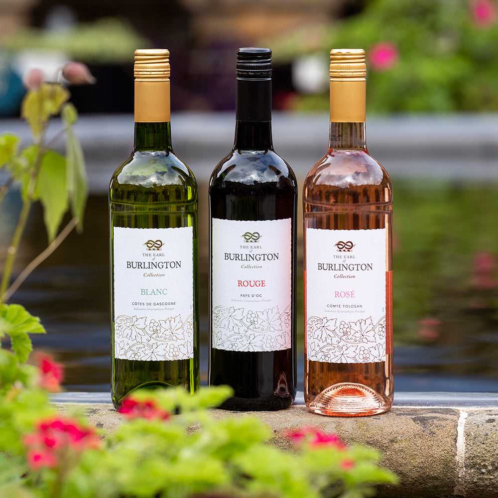 Earl of Burlington wine trio