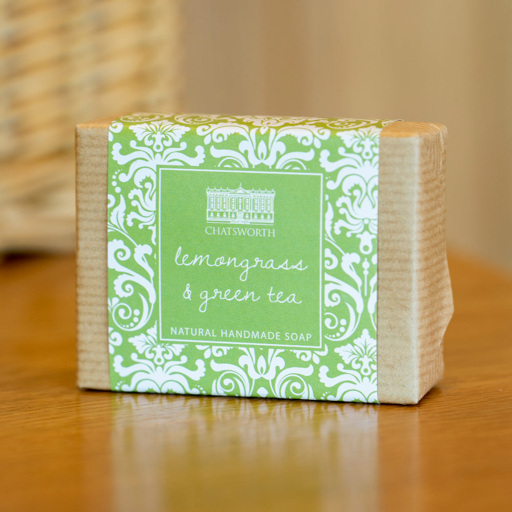 Handmade natural soap - lemongrass & green tea